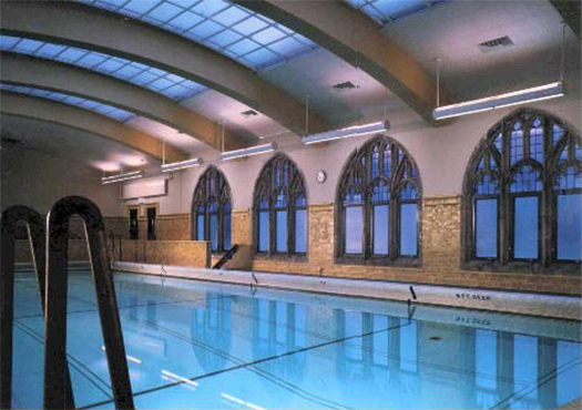 Luckett associates architects and engineers - University of chicago swimming pool ...